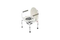 Кресло-стул с санитарным оснащением (без колес) серии WC: WC Delux
