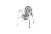 Кресло-стул с санитарным оснащением (без колес) серии WC: WC Econom