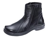 Обувь ортопедическая сложная без утепленной подкладки (Полусапожки холодные мужские)