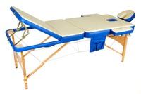 Массажный стол JF-AY01 3-х секционный М/К