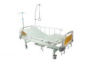 Кровать медицинская функциональная с механическим приводом Е-8 (2 функции) ММ-12