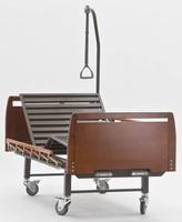 Кровать медицинская функциональная с механическим приводом Е-8 (2 функции) деревянная ММ-13
