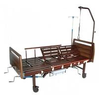 Кровать медицинская функциональная с механическим приводом Е-45А (3 функции) ММ-39