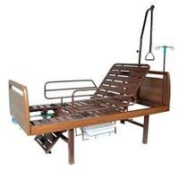 Кровать медицинская функциональная с механическим приводом YG-6 с кресельной функцией на ножках ММ-42