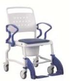 Кресло-стул с санитарным оснащением из сверхсрочного пластика TRB 3000 Бони