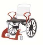Кресло-стул с санитарным оснащением из сверхсрочного пластика TRB 3000 Генф