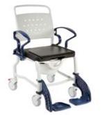 Кресло-стул с санитарным оснащением из сверхсрочного пластика TRB 3000 Берлин