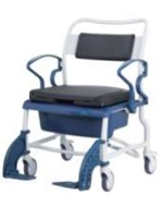 Кресло-стул с санитарным оснащением из сверхсрочного пластика TRB 3000 Мальта