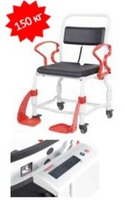 Кресло-стул с санитарным оснащением из сверхсрочного пластика TRB 3000 Фрейбург