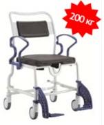 Кресло-стул с санитарным оснащением из сверхсрочного пластика TRB 3000 Даллас