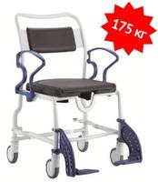 Кресло-стул с санитарным оснащением из сверхпрочного пластика TRB 3000 Денвер