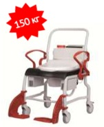 Кресло-стул с санитарным оснащением из сверхпрочного пластика TRB 3000 Дубай