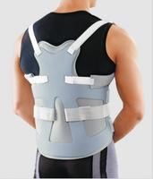 Корсет ортопедический на средне-грудной отдел позвоночника, жесткой фиксации, Silver Line Orlett DLSS-4000(F) цвет серебристо-серый