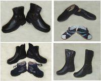 Обувь ручного производства на ортопедический аппарат